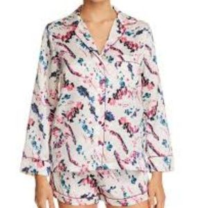 Sam Edelman Long Sleeve Short Pajamas 2PC Set SMAL